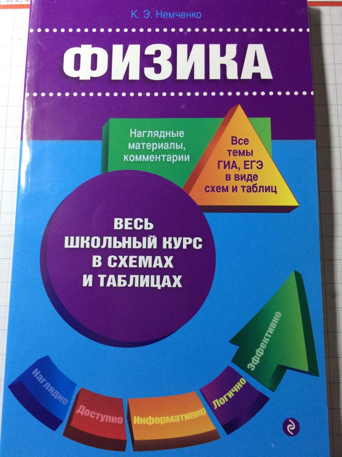 Немченко физика в схемах и таблицах