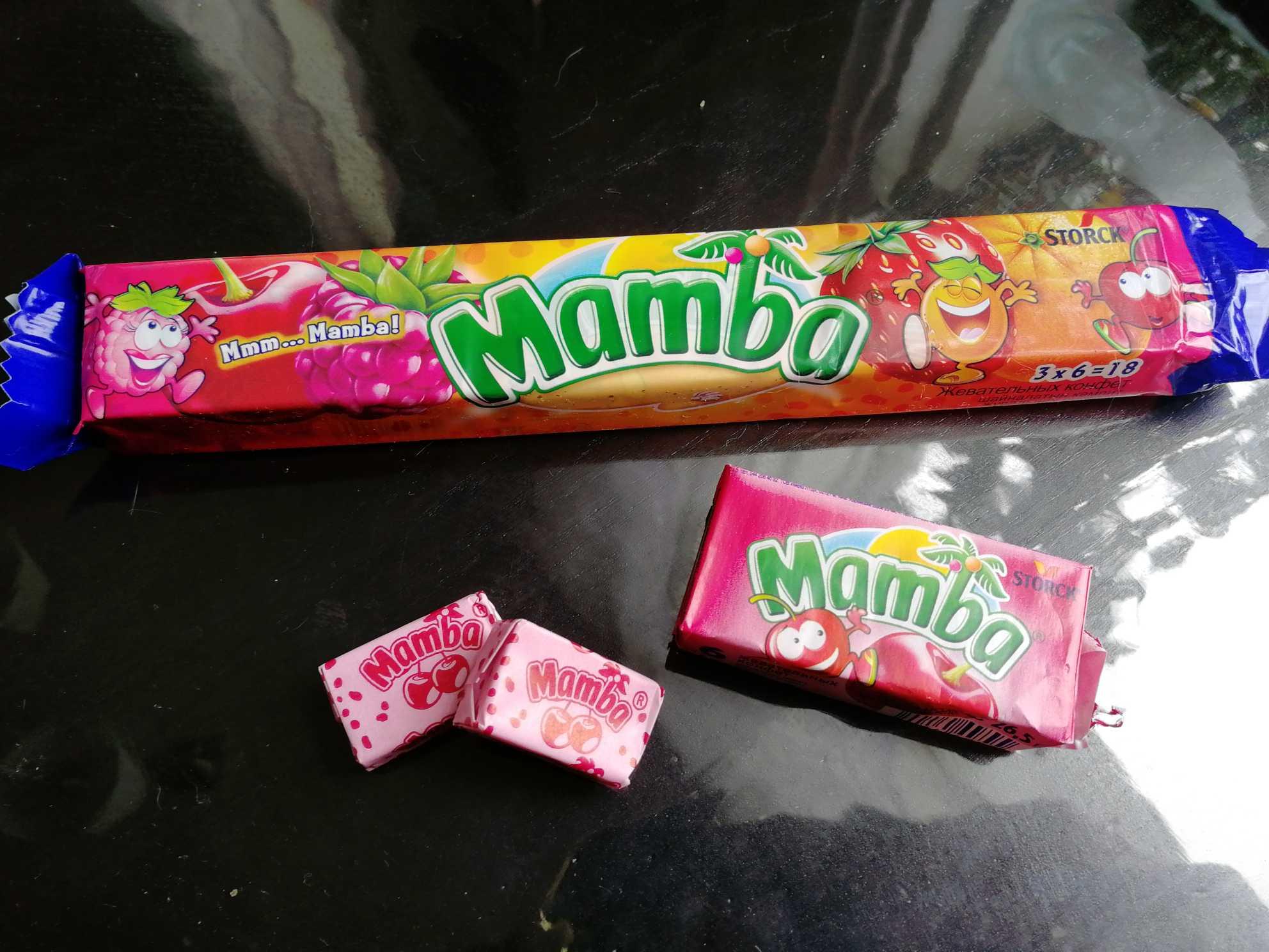 конфеты мамба википедия
